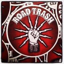 Road Trash Sticker Hard Hat Stickers Union Logo Electrical Workers