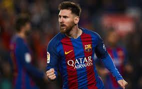 تحميل خلفيات 4k ليونيل ميسي 2018 الهدف برشلونة الدوري