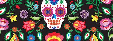 mexican sugar skull wallpaper mural