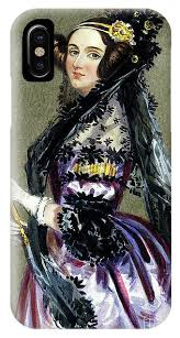 Portrait of Augusta Ada King,Countess of Lovelace IPhone X Case ...