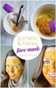 turmeric honey face mask diy turmeric