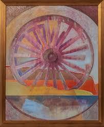 Wheel by Ronald Wesley Hayes on artnet