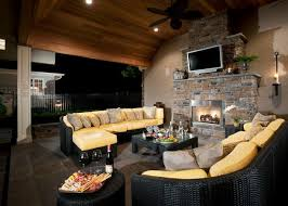 outdoor electric fireplace options