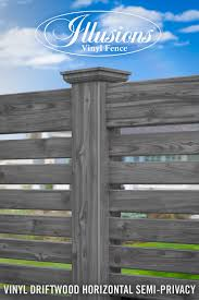 37 Incredible Vinyl Wood Grain Fence Images From Illusions Vinyl Fence Illusions Fence