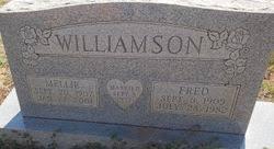 Mellie Ida Hill Williamson (1907-2001) - Find A Grave Memorial