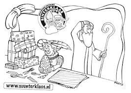 De Urker Sinterklaas Kleurplaten