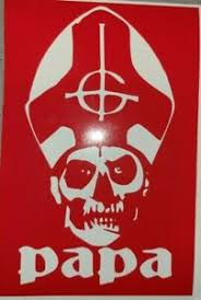 Ghost Band Papa Emeritus Face Die Cut Vinyl Sticker Decal Many Colors Available Ebay