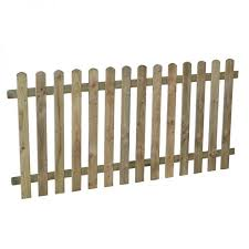 Forest 5 11 X 2 11 Heavy Duty Pressure Treated Pale Picket Fence Panel 1 8m X 0 9m Fencestore