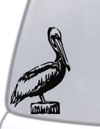 Pelican Bird Vinyl Decal Sticker Car Window Wall Brief Case Bumper Laptop Locker Ebay