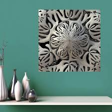 My Wonderful Walls Geometric Floral Wall Decal Wayfair