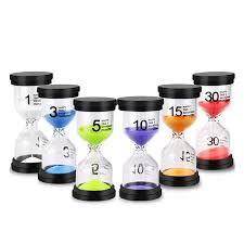2020 sand timer colorful hourglass sand