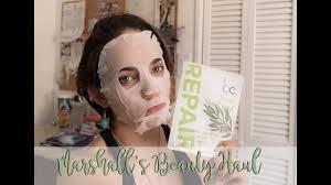 beauty concept face masks