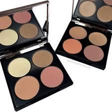 makeup geek face palette parison