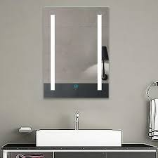 light up bathroom wall mirror with