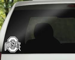 Ohio State Buckeyes Osu Vinyl Decal Car Window Sticker Free Shipping 4 25 Picclick