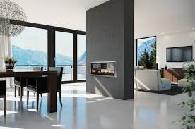 contemporary two sided fireplace ideas