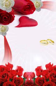 Descarga Gratis Invitacion Rosas Rojas Blancas Y Anillos Para Tu