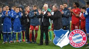 TSG 1899 Hoffenheim gegen FC Bayern München, 24. Spieltag ...