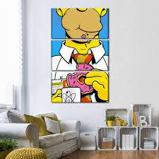 Homer Simpson Multi Panel Canvas Wall Art Elephantstock
