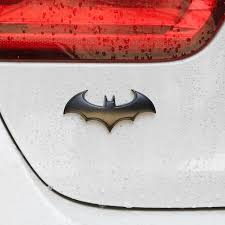 3d Bat Design Metal Decals Unique Car Funny Stickers Car Body Styling Sticker Walmart Com Walmart Com