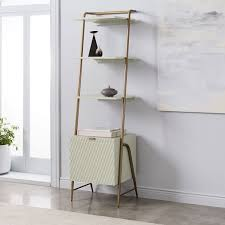 Audrey Narrow Storage Bookcase