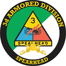 3rd Armored Division With Armor Insignia Decal