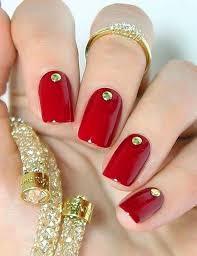 30 super cute red acrylic nail designs