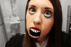 creepy baby doll makeup tutorial