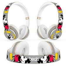 Mickey Mouse Disney Skin Decal For Beats Headphones Solo Studio 2 3 Wireless Ebay