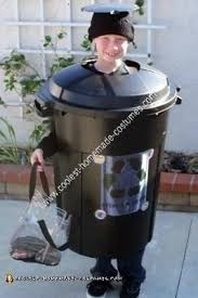 trash can and recycle bin costumes