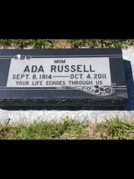 Ada Winifred Pegg Russell (1914-2011) - Find A Grave Memorial