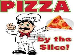 Pizza By The Slice Window Or Wall Decal Choose A Size Stands Boardwalk Shops Ebay