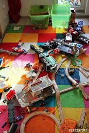 Messy Kids Room Lazy Child Did Not Collet His Toys Buy This Stock Photo And Explore Similar Images At Adobe Stock Adobe Stock