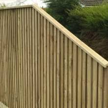 Wooden Fence Capping Finials Pressure Treated Free Delivery Available