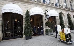 ritz paris hotel auctions its luxury