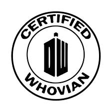 Doctor Who Certifd Whovian Vinyl Decal Sticker