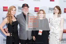 Amy Adams with Christopher B. Smith, Jeannie Smith and Emma Stone
