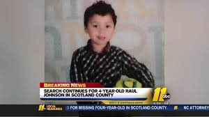 Raul Johnson Amber Alert: Frantic search continues for 4-year-old ...