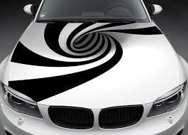 Abstract Car Hood Wrap Decal Vinyl Sticker Full Color Graphic Fit Any Car Car Bonnet Car Decals Vinyl Car Graphics