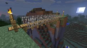 Rope Bridge Minecraft