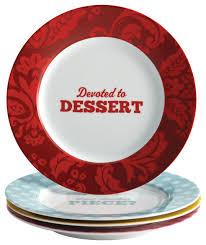 cake boss piece porcelain dessert plate set patterns and