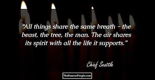 thought provoking quotes by chief seattle