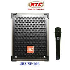 Loa kéo di động Karaoke Bluetooth cao cấp JBZ NE-106 Bass 2 Tấc, CS 70W  (Đen) + Kèm 1 micro không dây