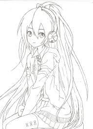 Tổng hợp các bức tranh tô màu anime đẹp nhất - Zicxa hình ảnh