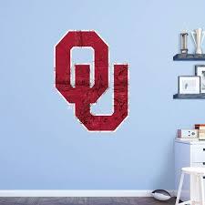 Fathead Ncaa Oklahoma Sooners Realtree Logo Wall Decal 61 62047 Logo Wall Wall Decals