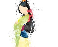 watercolor art posters disney drawings