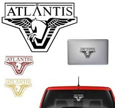 Stargate Atlantis Vinyl Sticker Decal For Car Laptop Wall Gaming Movie Sticker Ebay
