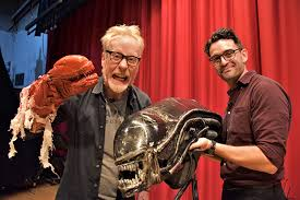 Adam Savage takes backstage tour of North Bergen's 'Alien' play ...