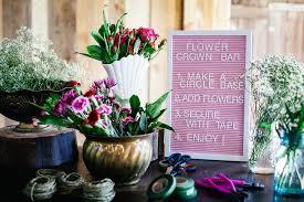 diy flower crown bar gathered living