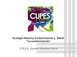 ecología humana contaminación y salud